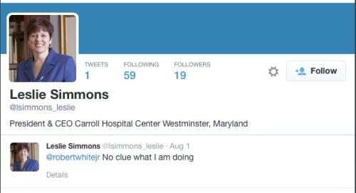 Leslie Simmons - twitter