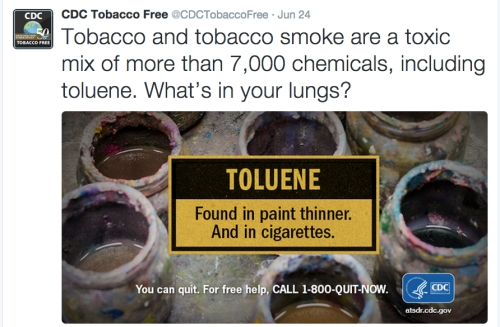 CDC lies about Toluene